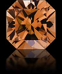 FLANDERS CUT — Orange safir